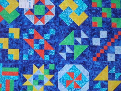 Another great sampler quilt top - learn to make one of your own!