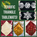 Terrific Triangle Tablemats